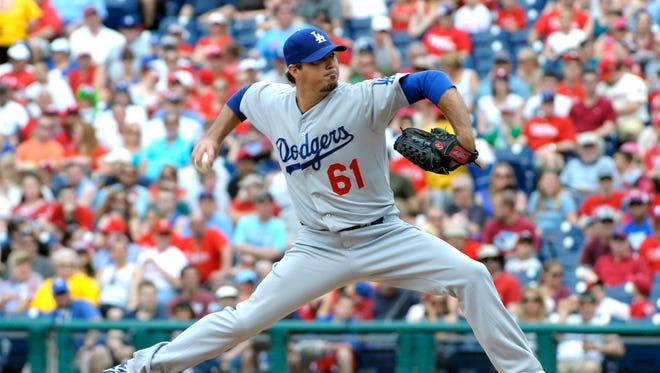 Josh Beckett is the first Dodger to throw a no-hitter since Hideo Nomo in 1996.