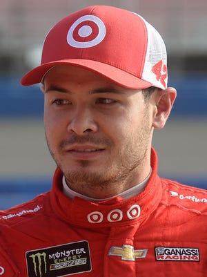 Kyle Larson often moonlights in sprint car racing.