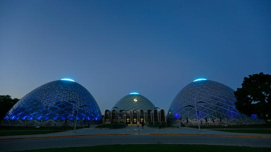 The Domes at the Mitchell Park Conservatory in Milwaukee