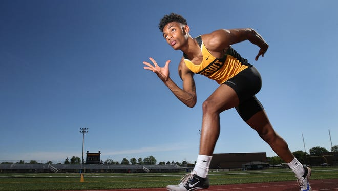 Noah Williams, 2017 Boys Track and Field Athlete of the Year