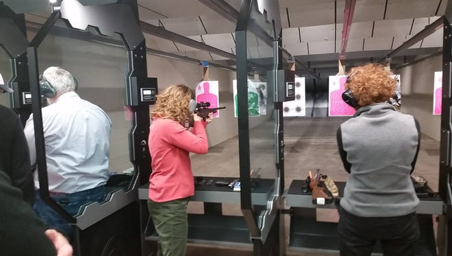 Fireline Shooting & Training Center's new Grand Chute shooting range is similar to the range shown here in its Rice Lake facility.