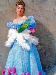 Syndi Zook as Dolly Tate in the 1982 Lyric Theater