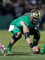 From the Colts' perspective, former Notre Dame center Nick Martin is among the more intriguing prospects in the coming NFL Draft.
