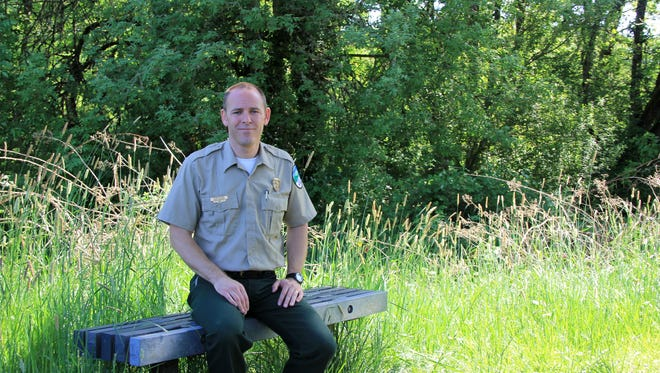 Ryan Sparks, 41, is a Salem native and the park manager at Champoeg State Heritage Area.