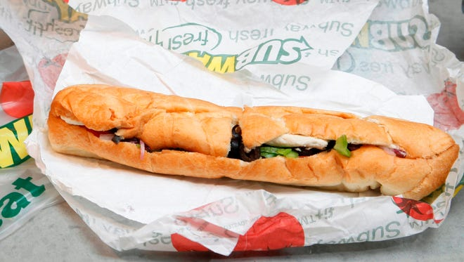 Subway said Tuesday, Oct. 20, 2015,  that it plans to switch to meat raised without antibiotics over the next several years.