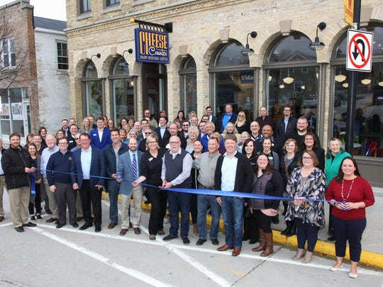 The Cheese Counter & Dairy Heritage Center held their ribbon cutting ceremony and open house on April 12