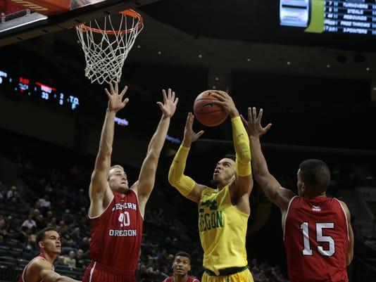 NCAA Basketball: Western Oregon at Oregon