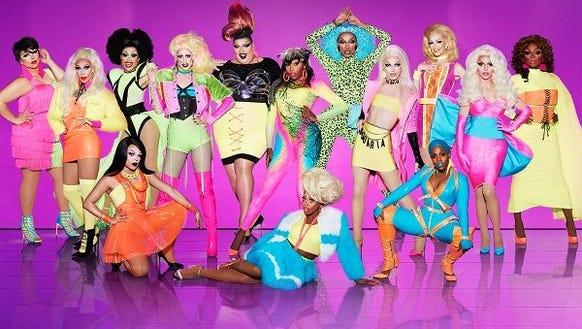 The queens of 'RuPaul's Drag Race' season 10.