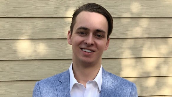 Asheville High graduate Luke Lechner.