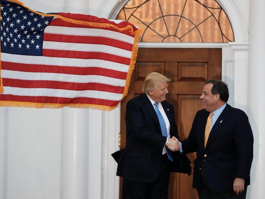 President-elect Donald Trump and Gov. Chris Christie