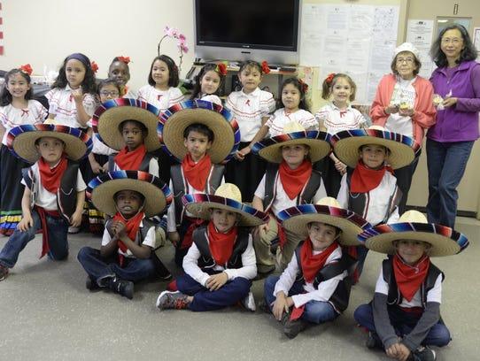 In 2016, Kindergartners from Quarrels Elementary School