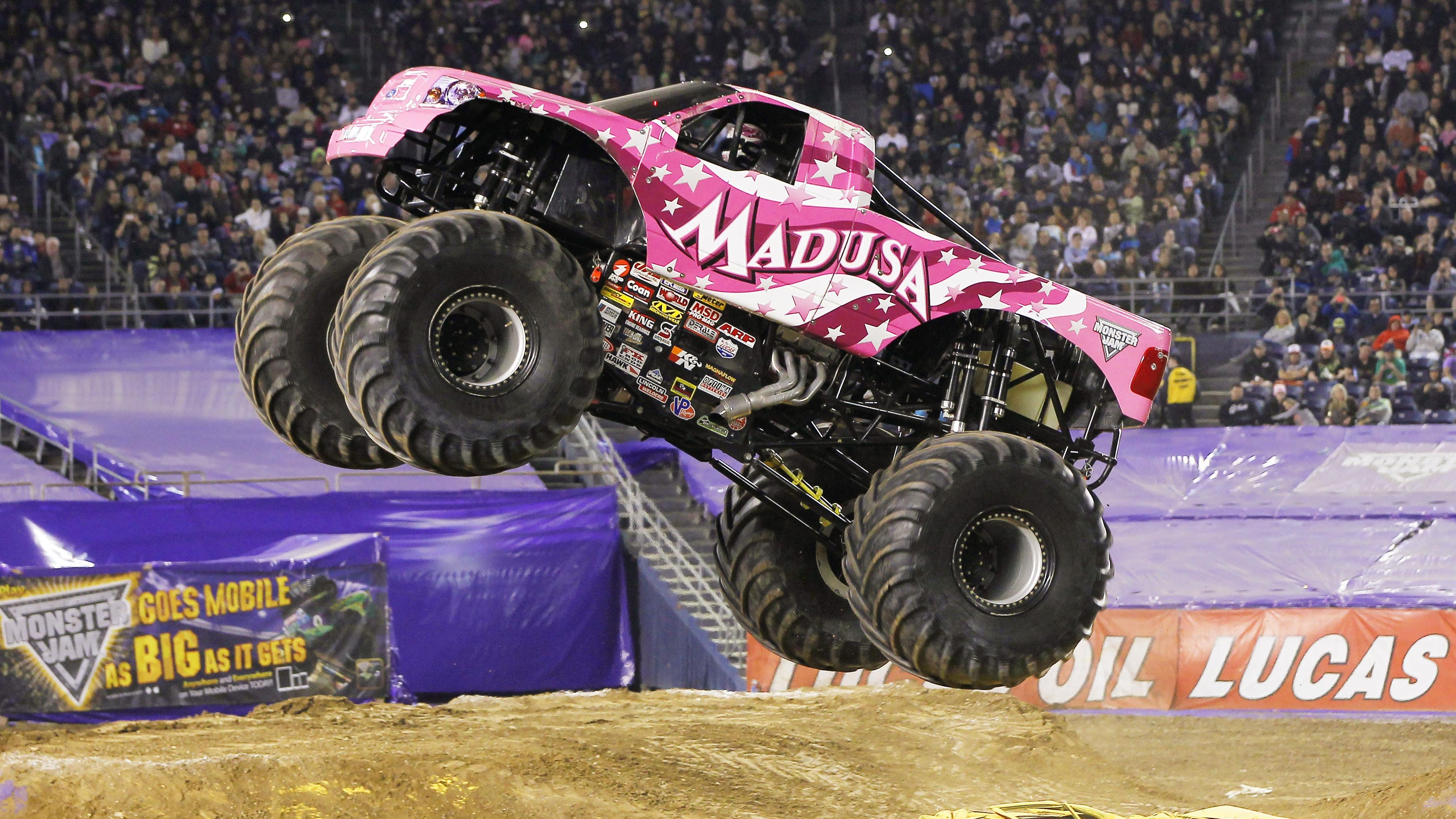 Madusa talks Monster Jam WWE Hall of Fame