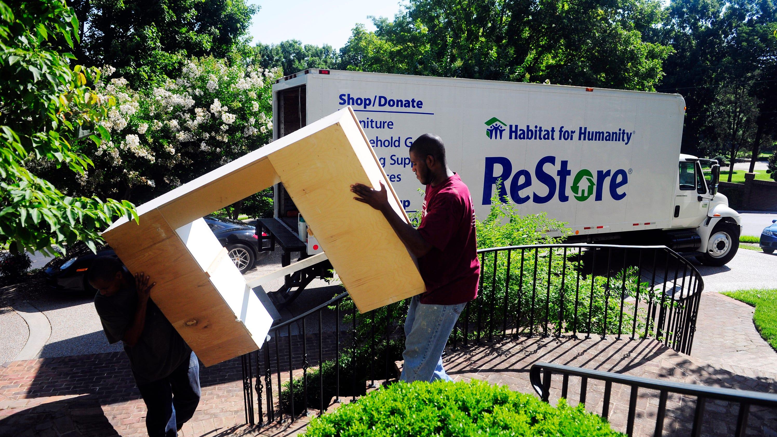 Many organizations offer pick up service in Nashville