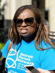Sharlonda Buckman, head of the Detroit Parent Network,