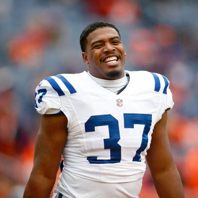 FILE – Former Colts RB Zurlon Tipton died at age 26