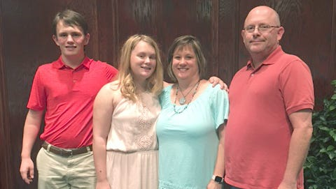 Fairview teen Aden Fuson, his sister Briteynn, mom Jennifer, and dad Evan all work hard to bring Autism Awareness to the Fairview community and create a normal life for Aden.