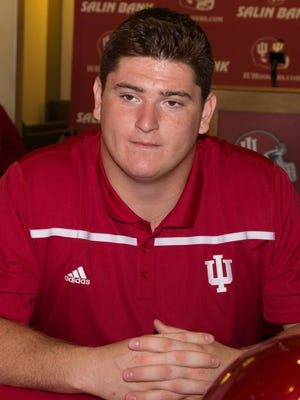 IU's Dan Feeney decided to return for his senior season.