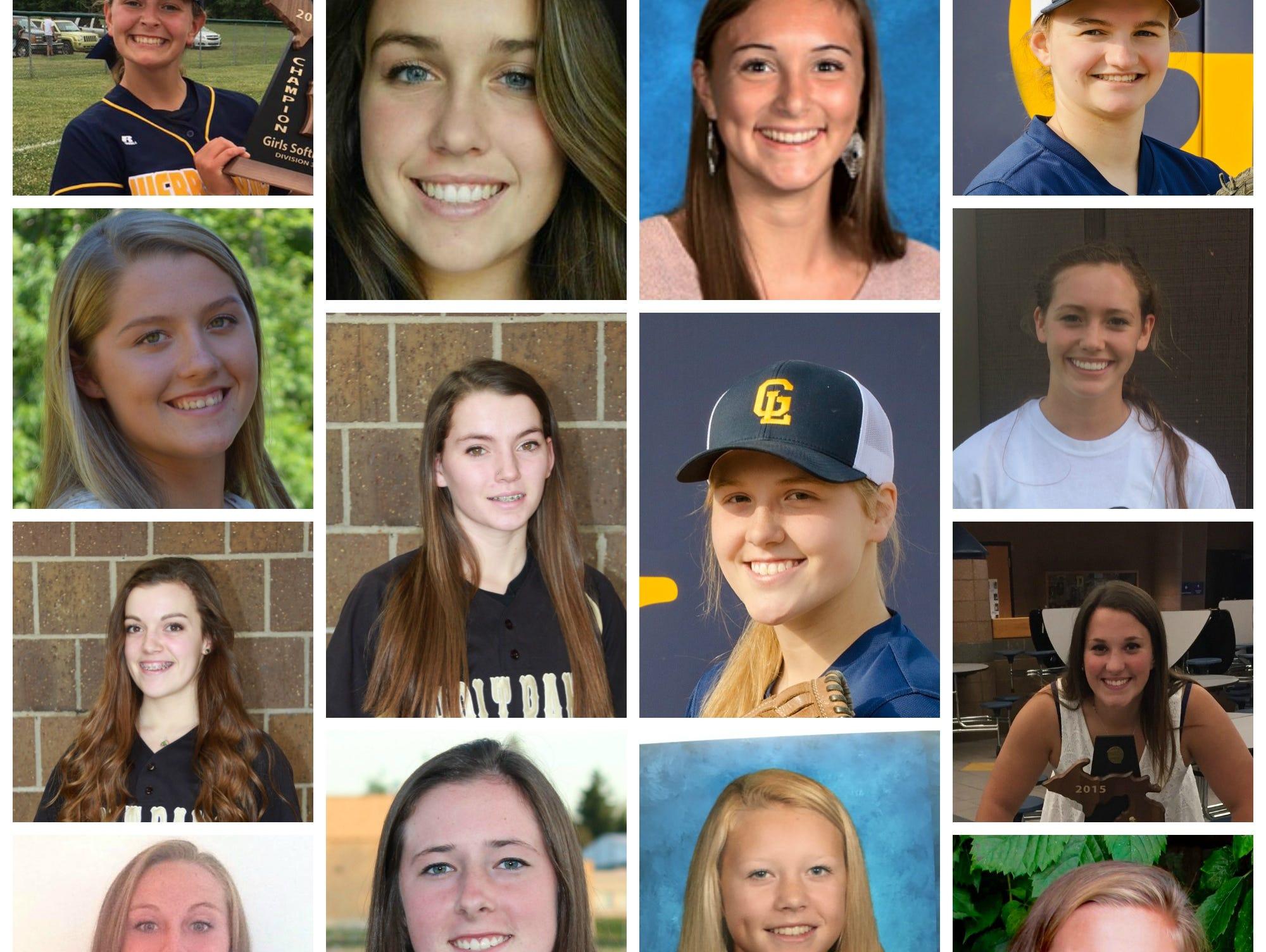 Meet the Lansing State Journal 2016 Softball Dream Team.