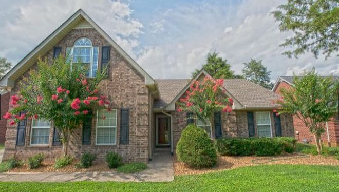 This Rutherford County home, at 187 Little Turtle Way in Murfreesboro, was built in 2001 and has 1,746 square feet.