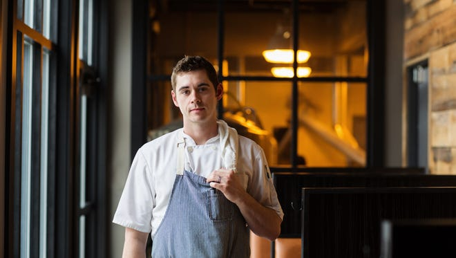 Benjamin Smart, the executive chef at Big Grove Brewery in Solon, was named Restaurateur of the Year by the Iowa Restaurant Association.