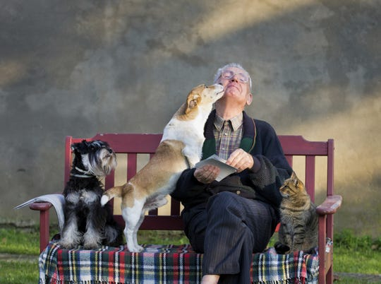 Pets can improve retirees' physical, emotional health003