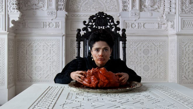 """Salma Hayek plays a queen with an unusual appetite in """"Tale of Tales."""""""