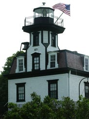 The Colchester Reef Lighthouse now stands at Shelburne