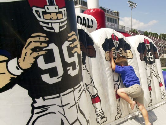 The Buffalo Bills Experience offers children a chance