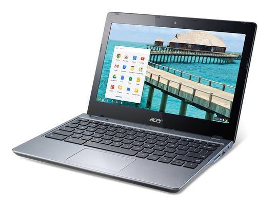 Acer's ultralight non-touch C720 Chromebook.