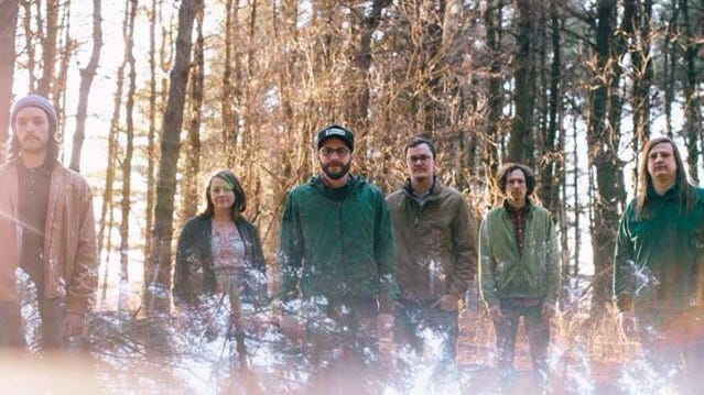 The River Monks, from left to right: Nick Frampton, Mallory Heggen, Ryan Stier, Tommy Boynton, Joel Gettys and Drew Rauch.