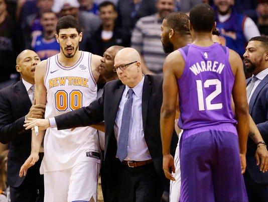 New York Knicks .vs Phoenix Suns 2018
