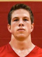 Annville-Cleona boys basketball senior Isaac Burris.
