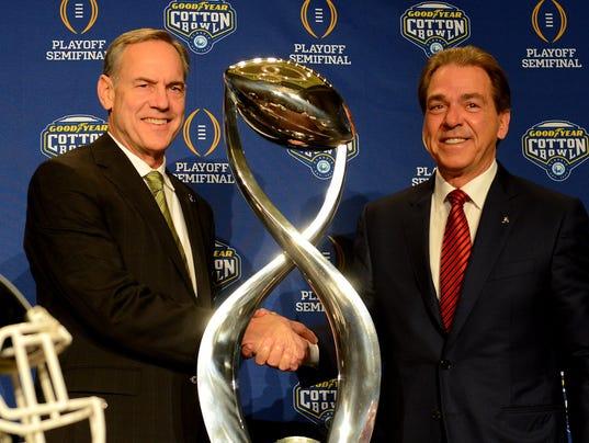 Cotton Bowl Coaches Presser