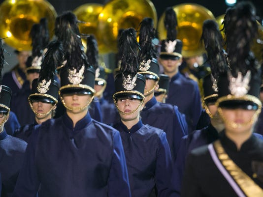 Desert Vista High marching band