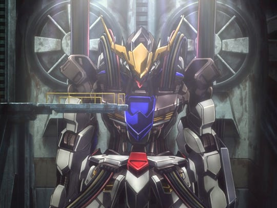 """The Gundam Barbatos is the flagship robot in """"Mobile"""