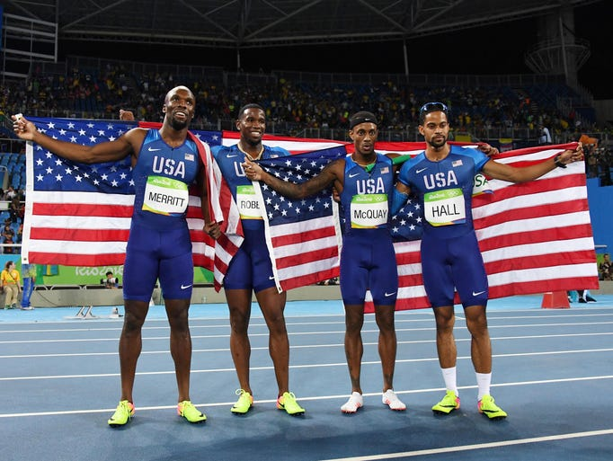 Track And Field At The Rio Olympics