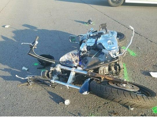 Jeremy Halstead was driving a 2002 Harley Davidson