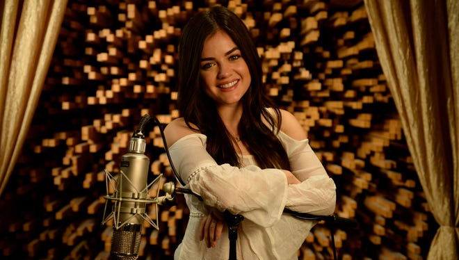 Lucy Hale will release her first album in early 2014.