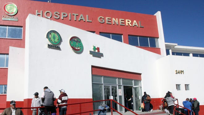 Two hospitals in Juárez have been designated as the ones to treat any major casualties during Pope Francis visit of Feb. 17.