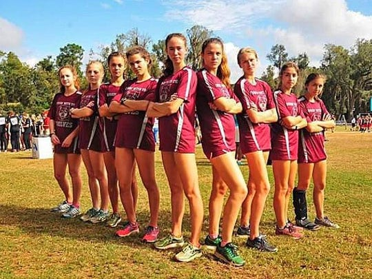 The Chiles girls cross country team won a 3A state title last week with 61 points, easily topping second place Niceville's 109. The Timberwolves had top 10 performances from seniors Emma Tucker and Alexandra Wallace, while underclassmen dominated the 3-7 positions.