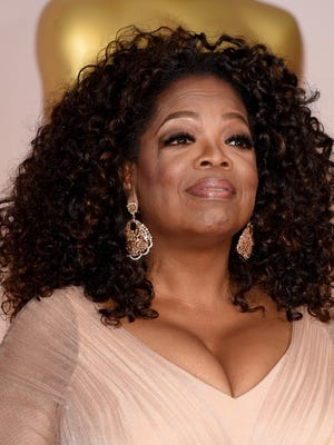 Oprah Winfrey attends the 87th Annual Academy Awards at Hollywood & Highland Center on Feb. 22, 2015 in Hollywood.