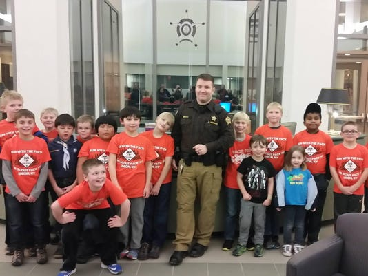 pack 702 at Boone County Sheriff's Headquarters