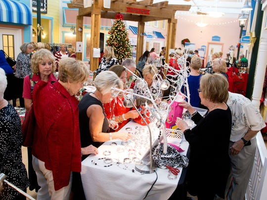 Poinsettia Power! holiday bazaar features specialty vendors offering unique or handcrafted items for sale. This year's bazaar, presented by Anchor Home Health Services, is set for Dec.6 at the Kane Center in Stuart.