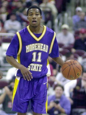 Mansfield Senior's new head coach Marquis Sykes played four seasons at Morehead State, setting the school record for career assists and earning a spot in the school's athletic hall of fame.