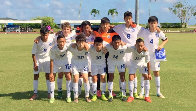 Guam's U13 boys national team