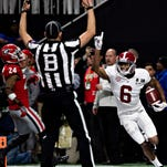 Alabama celebrates the title that never should have been