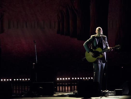Billy Corgan performs at the Beacon Theatre in New