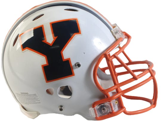 William Penn football helmet