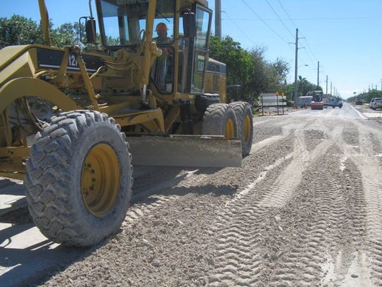 Brevard County Manager Frank Abbate is proposing 63 miles of road resurfacing and 5.9 miles of road reconstruction for the budget year that begins Oct. 1.