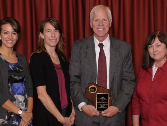Chegwin Elementary School was recognized during a